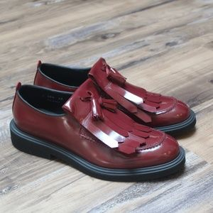 Bruno Bordese Red Men's Shoes - Size 40